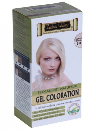 Indus Valley Natural Lightest Blonde Gel Hair Colour