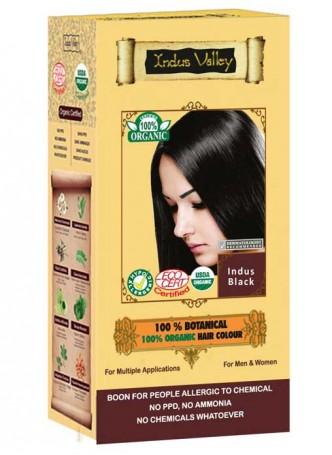 Indus Valley 100% organic Botanical Indus Black Hair Colour