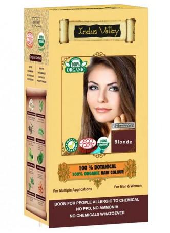 Indus Valley 100% Botanical Blonde Hair Colour