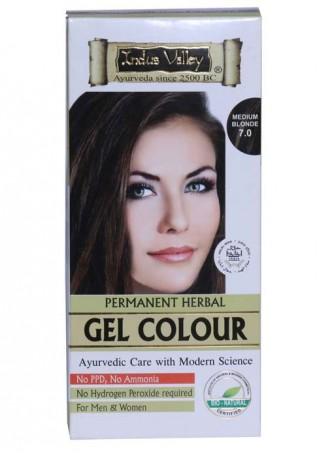 Indus Valley Natural Medium Blonde Gel Hair Colour