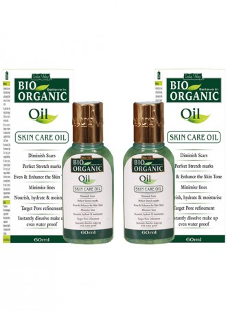 Indus Valley Bio Organic Skin Care Oil (Twin Pack)