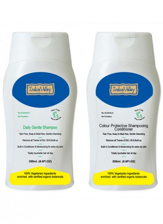 Indus Valley Combo Daily Care Shampoo and Conditioner