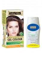 Indus Valley Organically Natural Gel Copper Mahogany Hair Color and Shampooing Conditioner Combo