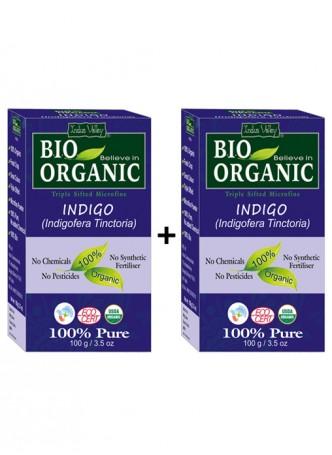 Indus Valley Bio Organic Indigo Henna - Twin Set