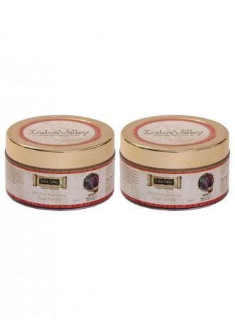 Indus Valley Ayurvedic Shea Butter Fruit Scrub - Pack of 2