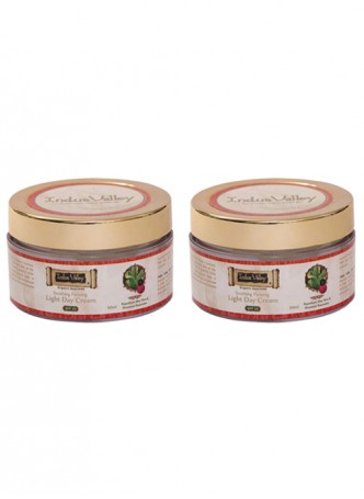 Indus valley organic Soothing & FirmingLight Day Cream - Pack of 2