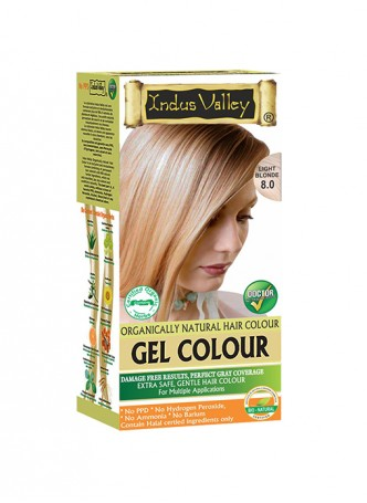Indus Valley Natural Light Blonde Gel Hair Colour