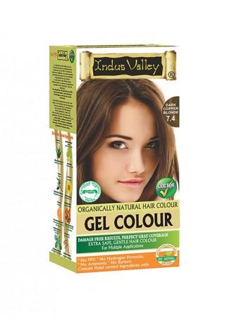 Indus Valley Natural Dark Copper Blonde Gel Hair Colour