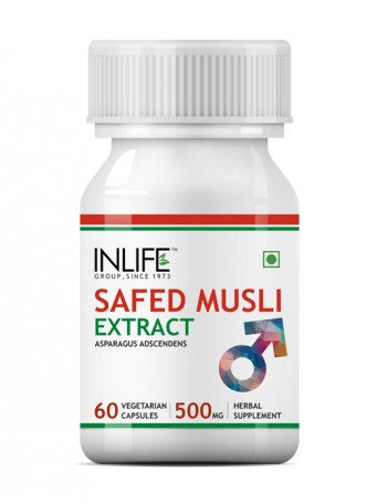 Inlife Safed Musli Extract, 500mg