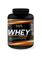 INLIFE Whey Protein Powder blend of Isolate Hydrolysate Concentrate Bodybuilding Supplement - 2 kgs (Chocolate Flavour)