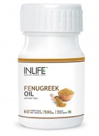 Inlife Fenugreek Oil 60 Veg Caps