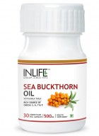 Inlife Sea Buckthorn Oil - Omega 7 3 6 9 30 Veg Caps