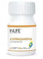 Inlife Ashwagandha – 500mg (60 Veg. Capsules)