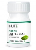Inlife Green Coffee Bean Extract – 500mg (60 Veg. Capsules)