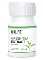 Inlife Green Tea Extract – 500mg (60 Veg. Capsules)