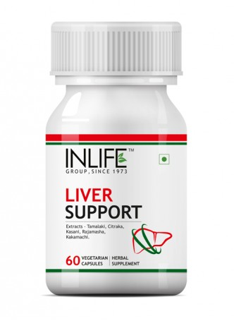 Inlife Liver Care 500 mg - 60 Veg Capsules