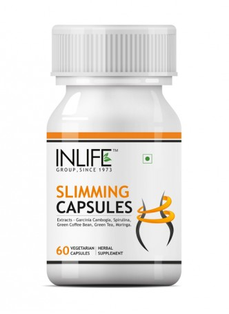 Inlife Slimming Supplement 500 mg - 60 Veg Capsules