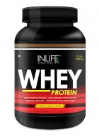 Inlife Whey Protein Powder Body Building Supplement (Cookie and Cream Flavour, 2 lb/(908 grams))