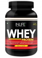 INLIFE Whey Protein Powder 2 lbs  (Vanilla Flavour) Body Building Supplement