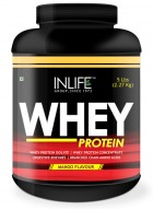 Inlife Whey Protein Powder  Body Building Supplement (Mango Flavour, 5 lb/(2.27 Kgs))