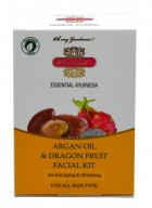 Inveda Argan Oil and Dragon Fruit Facial Kit (Pack of 2)