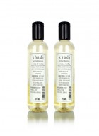 Khadi Natural Herbal Shampoo Honey and Vanilla - 210ml Set Of 2