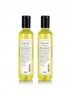 Khadi Natural Saffrron, Tulsi and Reetha Shampoo - 210ml Set Of 2