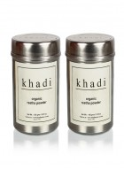 Khadi Natural Organic Reetha Powder - 150g Set Of 2
