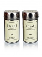 Khadi Natural Herbal Black Henna - 150g Set Of 2