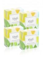 Khadi Natural Herbal Mix Fruit Soap - 125g Set Of 4