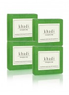 Khadi Natural Herbal Lemongrass Soap - 125g Set Of 4