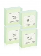 Khadi Natural Herbal Aloevera Soap - 125g Set Of 4