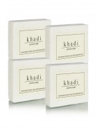 Khadi Natural Herbal Jasmine Soap - 125g Set Of 4