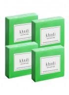 Khadi Natural Herbal Pure Neem Soap - 125g Set Of 4
