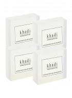 Khadi Natural Herbal Sandalwood Soap - 125g Set Of 4