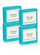 Khadi Natural Herbal Mint Soap - 125g Set Of 4