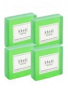 Khadi Natural Herbal Neem Tulsi Soap - 125g Set Of 4