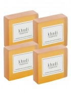 Khadi Natural Herbal Honey Soap - 125g Set Of 4