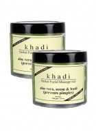 Khadi Aloevera, Neem and Basil Face Massage Gel-100g Set of 2