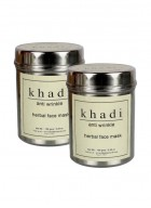 Khadi Anti Wrinkle Herbal Face Mask-50g Set of 2