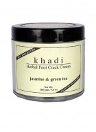 Khadi Jasmine and Green Tea Herbal Foot Crack Cream Relief For Cracked Heel