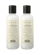 Khadi Moisturising Lotion Sandalwood with Kesar and Aloevera-210ml Set of 2