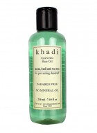 Khadi Natural Neem Teatree and Basil Hair Oil