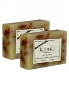 Khadi Natural Rose and Honey With Rose Petals Soap Set Of 2
