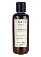 Khadi Natural Henna Rosemarry and Henna Hair Oil