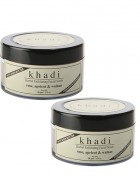 Khadi Rose, Apricot and Walnut Cream Scrub With Rose- 50g Set of 2