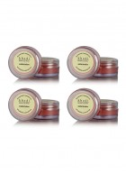 Khadi Watermelon Lip Balm with Beeswax and Sheabutter-10g Set of 4