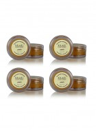Khadi Peach Lip Balm with Beeswax and Shea Butter-10g Set of 4