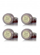 Khadi Wine Grapefruit Lip Balm with Beeswax and Shea Butter-10g Set of 4