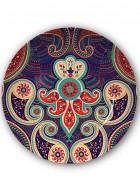 Kolorobia Majestic Paisley Decorative Plate